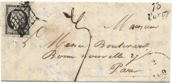 Lettre 1849